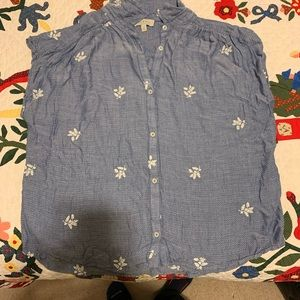 Lucky brand sleeveless shirt